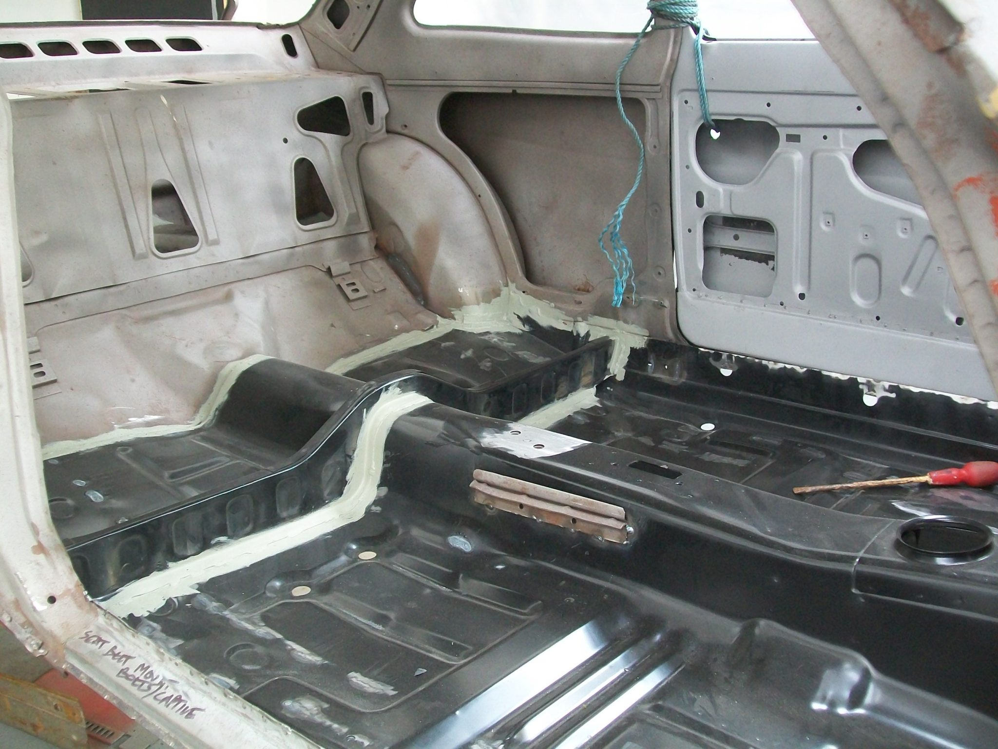 New Floor for Ford Escort