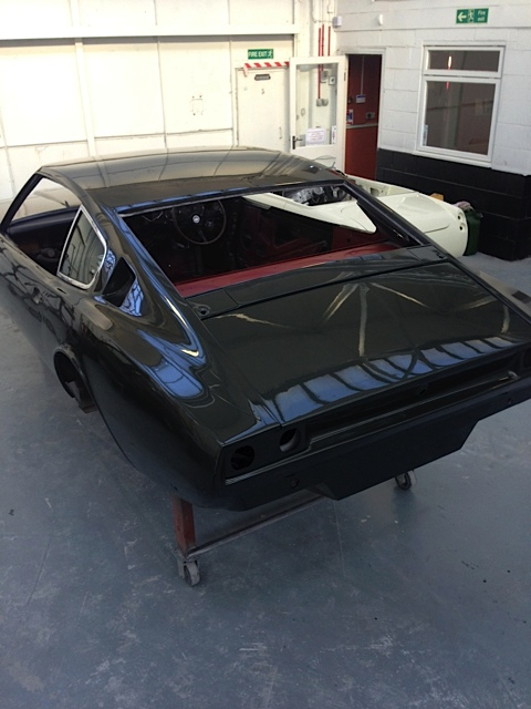 Refinished bodywork