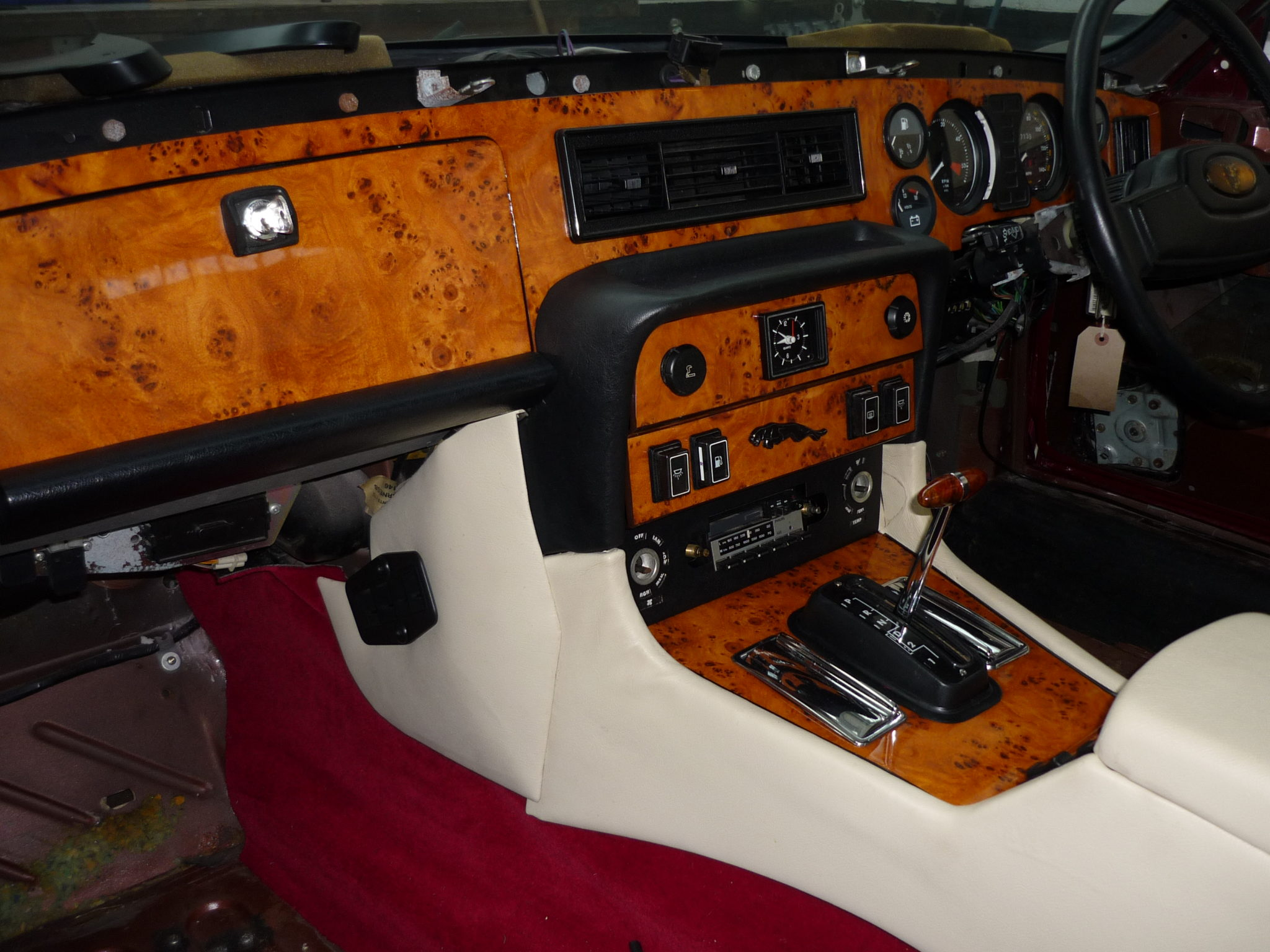 Fully restored interior