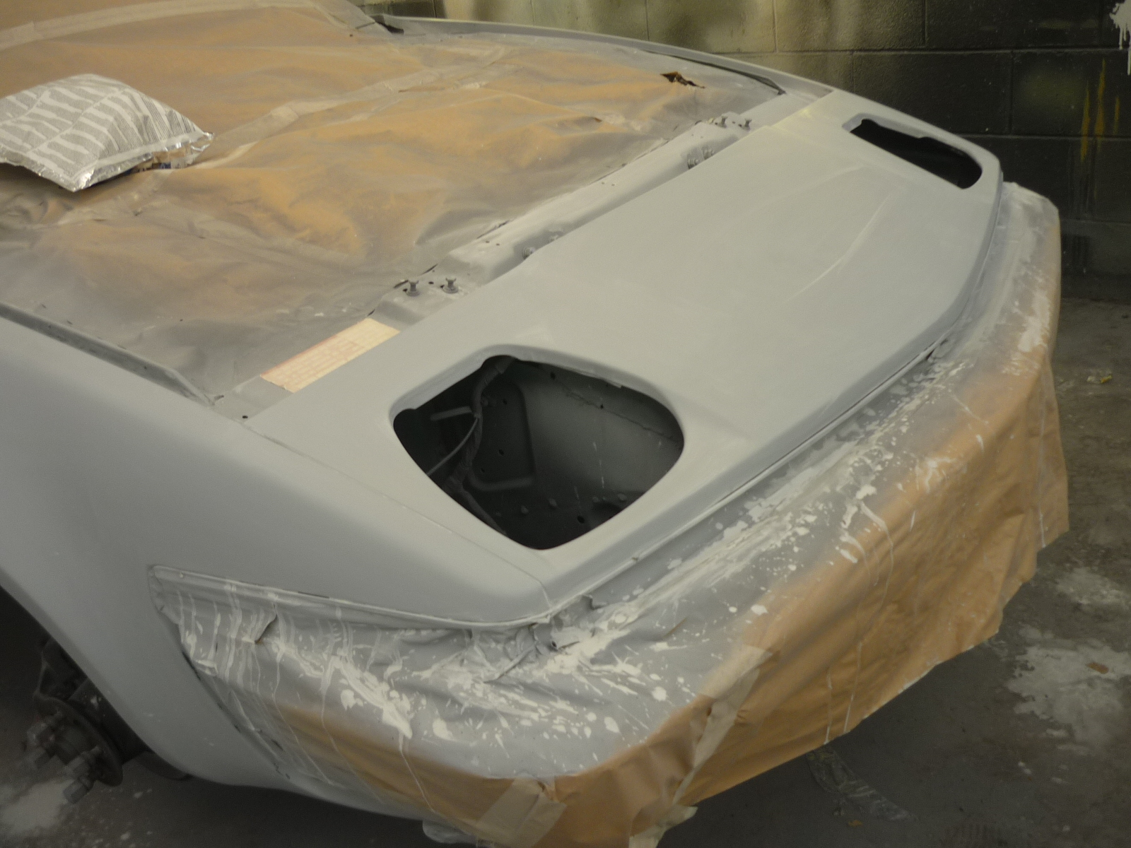 Primer and painting