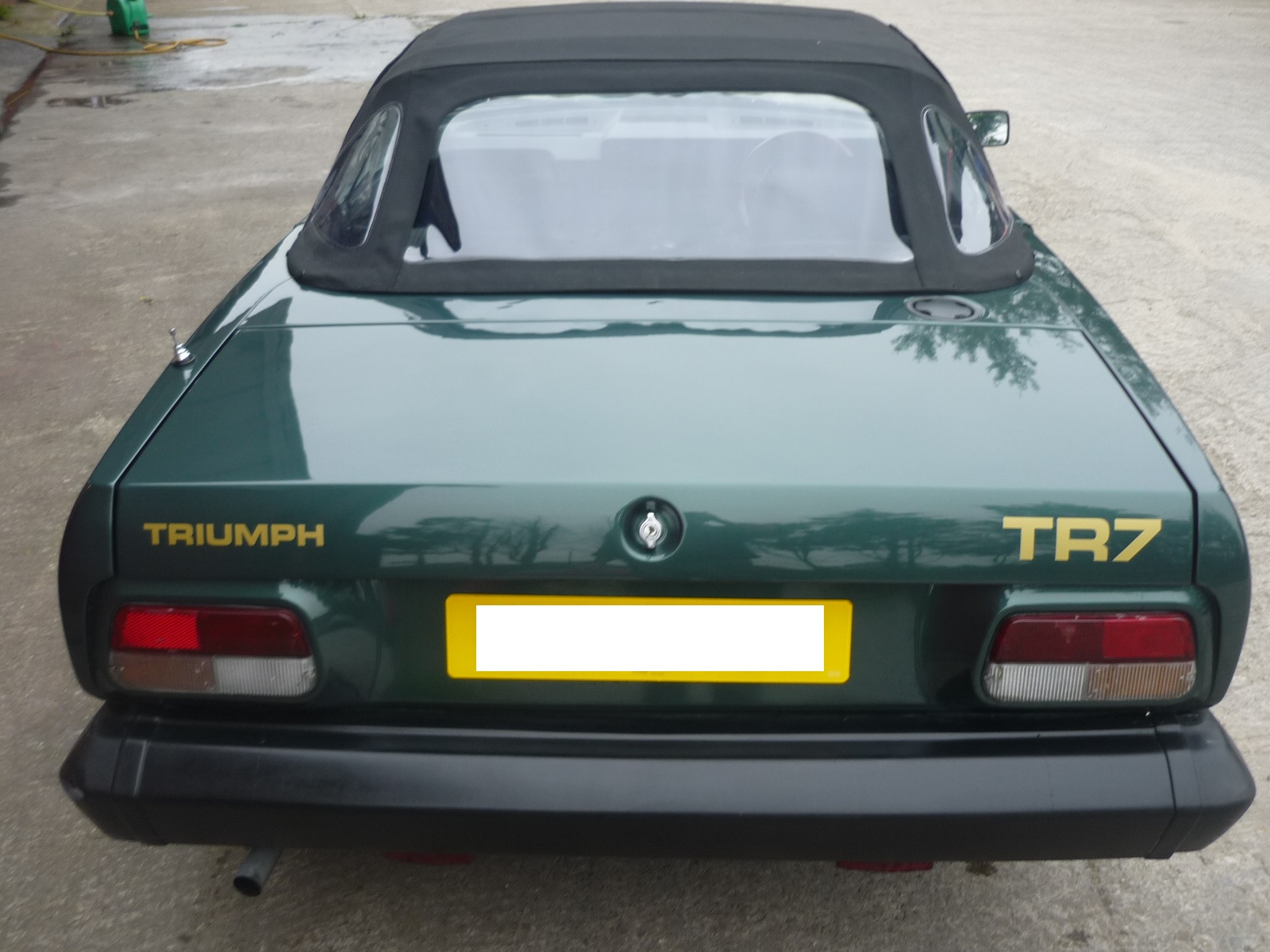 Completed Triumph TR7 Restoration