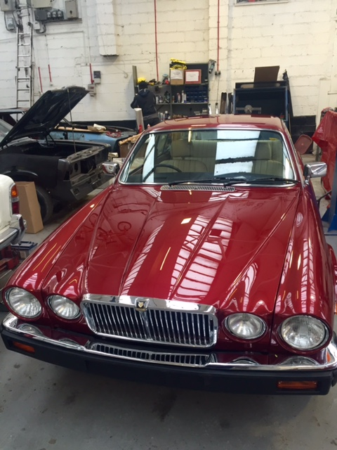 Jaguar XJ6 Restoration finished
