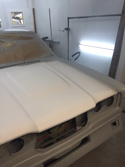 Ford Cortina Mk 3 paint primer