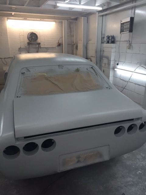 Ford Cortina Mk 3 restoration in primer