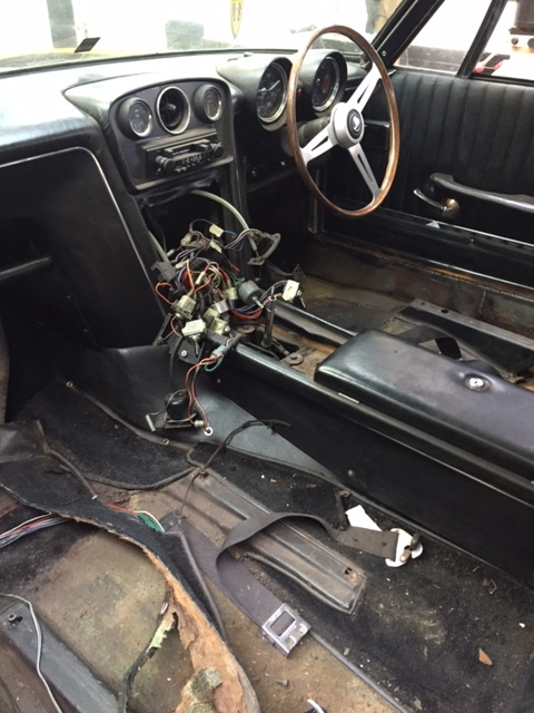 Jensen Interceptor Series 1 Restoration