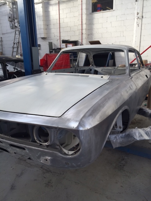 Alfa Romeo Giulia Stripped ready for paint
