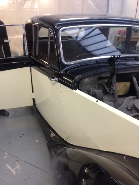 Refinishing of Armstrong Siddeley