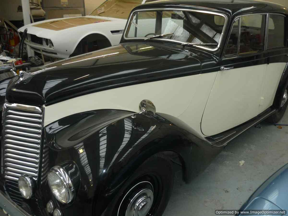 Side view of restored Armstrong Siddeley