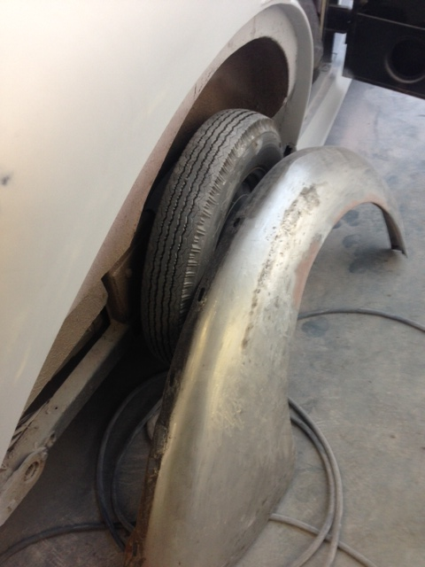 Wheel arch for restoration
