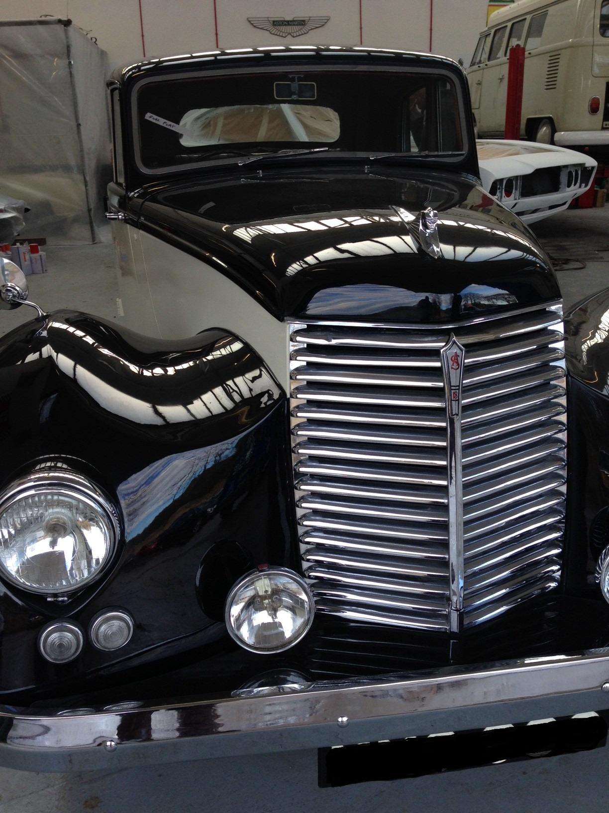 Armstrong Siddeley grille