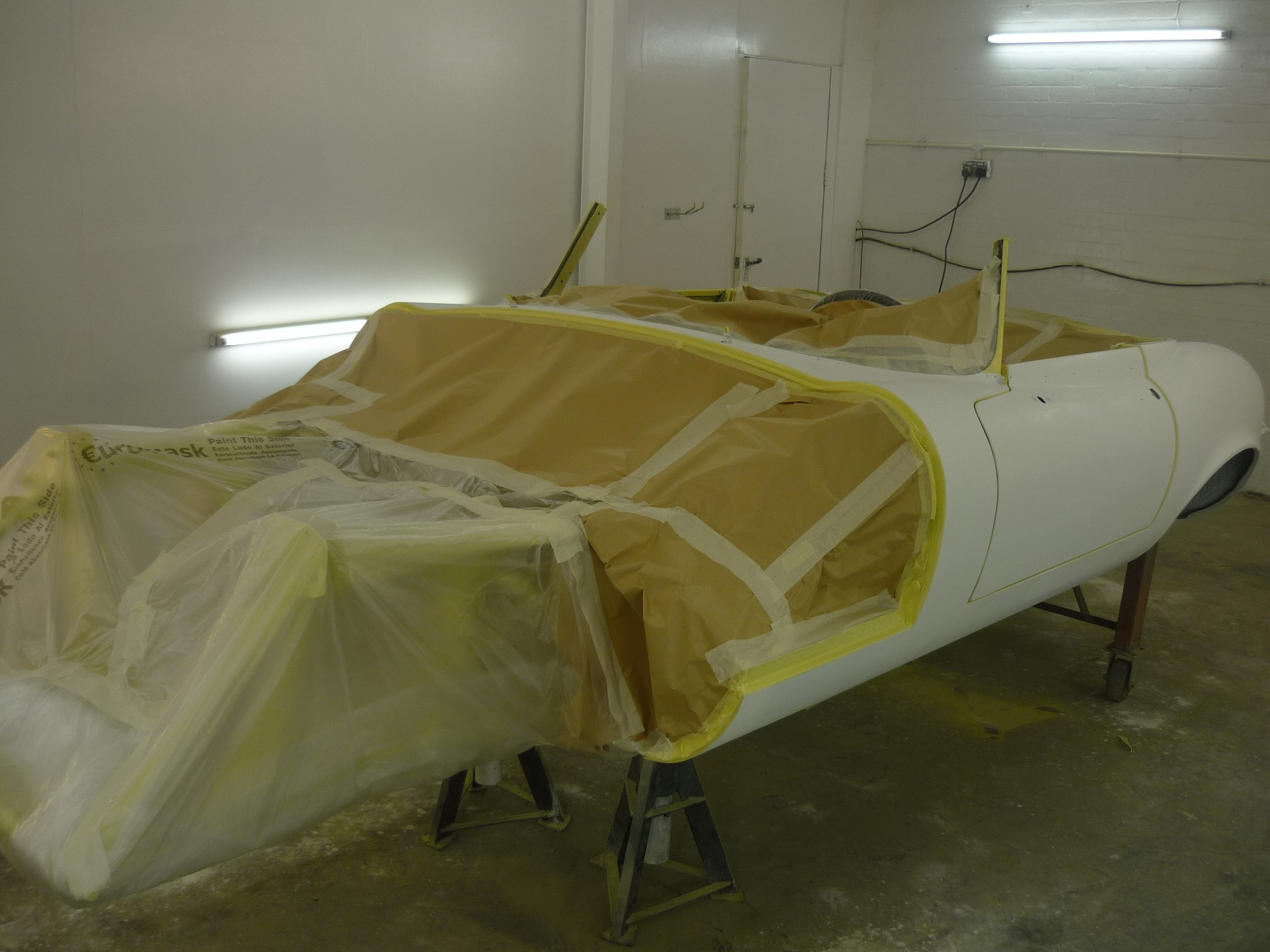 Jaguar E-Type Series 3 Paint