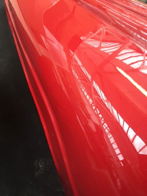 Porsche Tractor Panels Re-sprayed