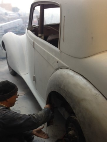 Armstrong Siddeley Re-Spray