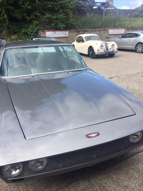 Jensen Interceptor Re-spray