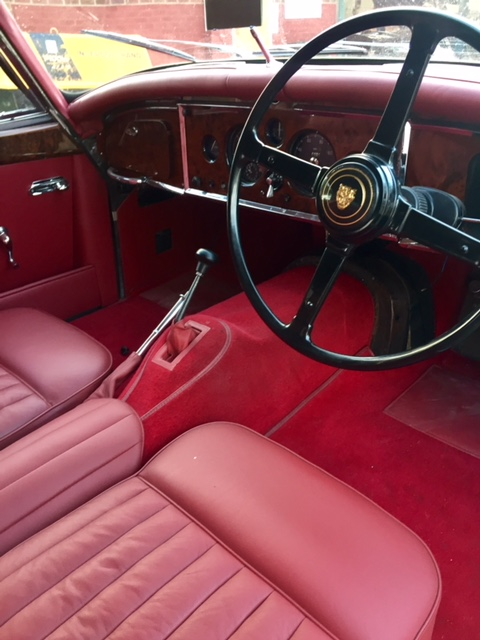 Jaguar XK150 Interior