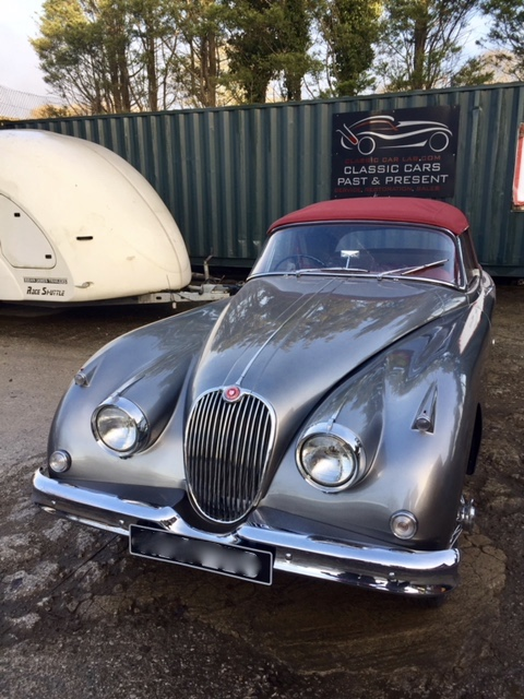Jaguar XK150 restoration