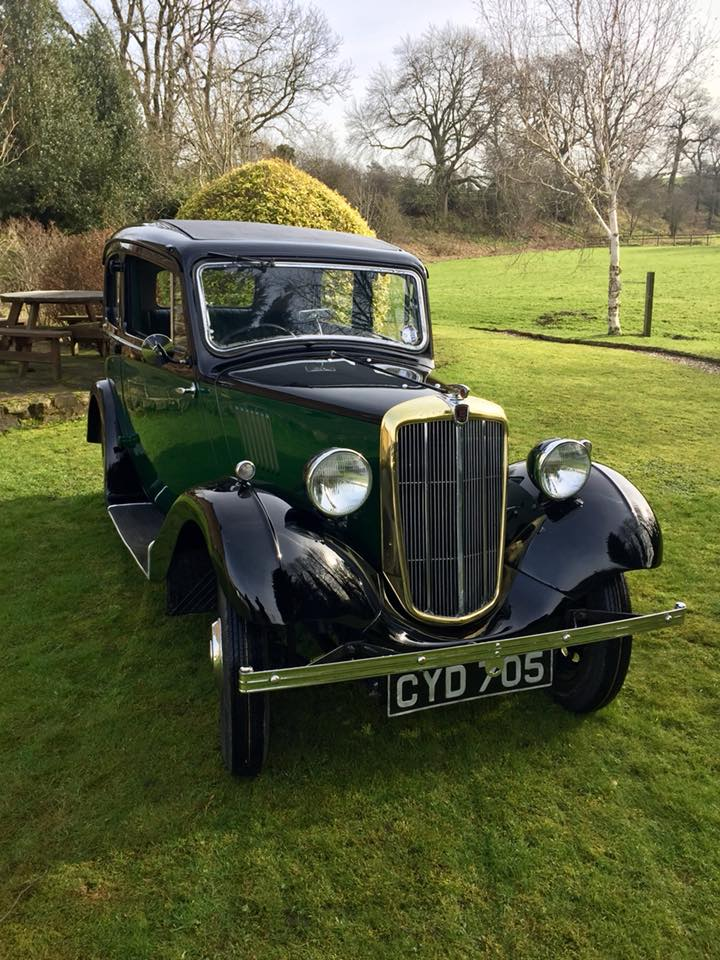 Morris Eight Restored