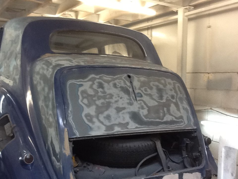 Bentley Mk VI Respray