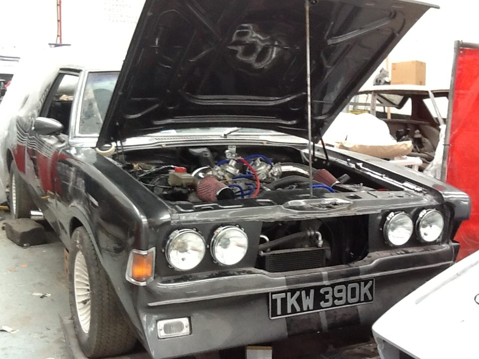 Ford Cortina Mk3 Engine