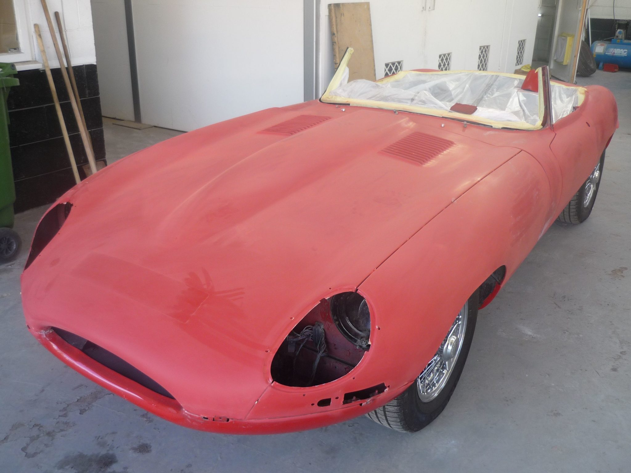 Jaguar E-Type S1 Respray